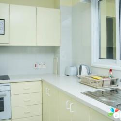 Paphia Sea View Appartments Standard Room Kitchen